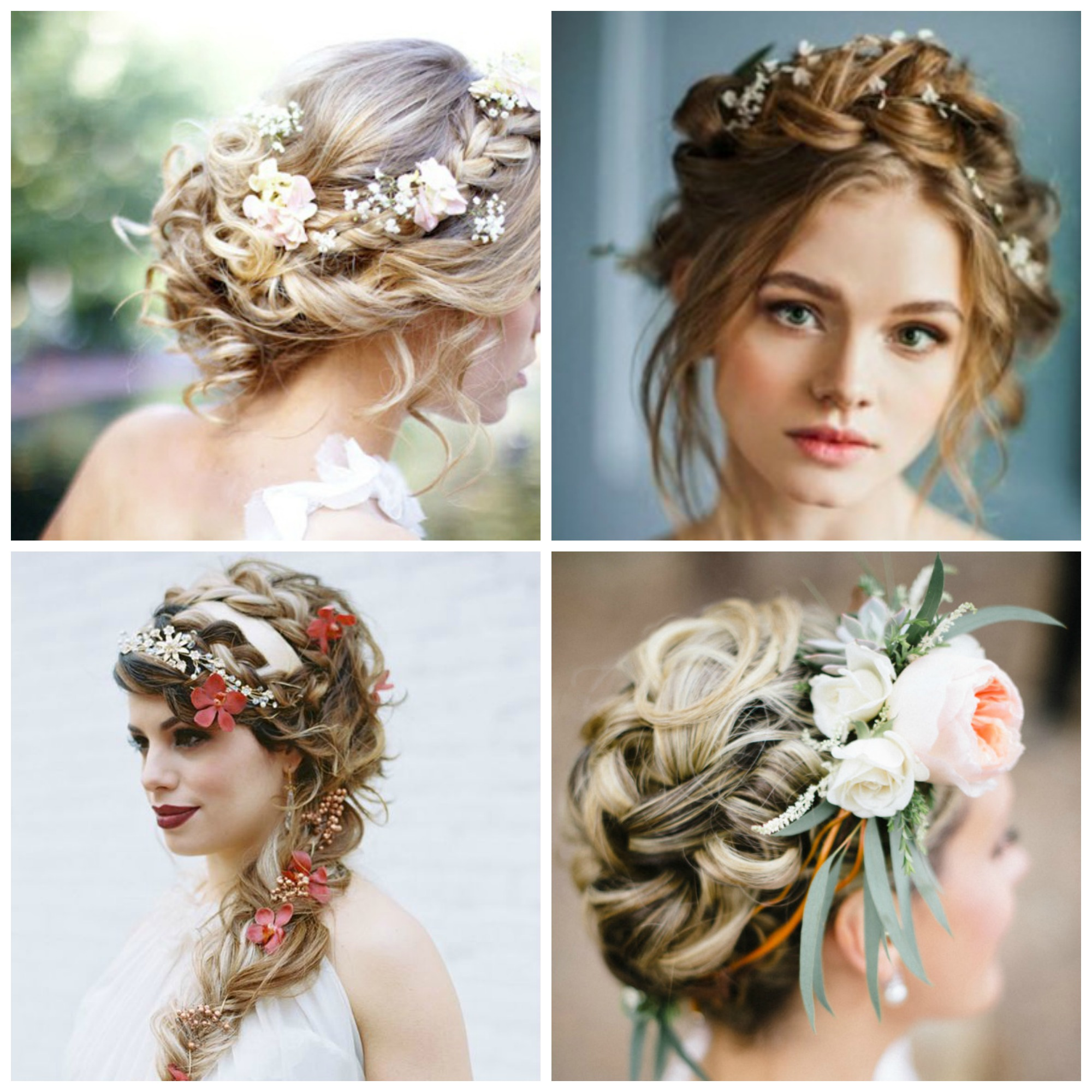 wedding floral crowns