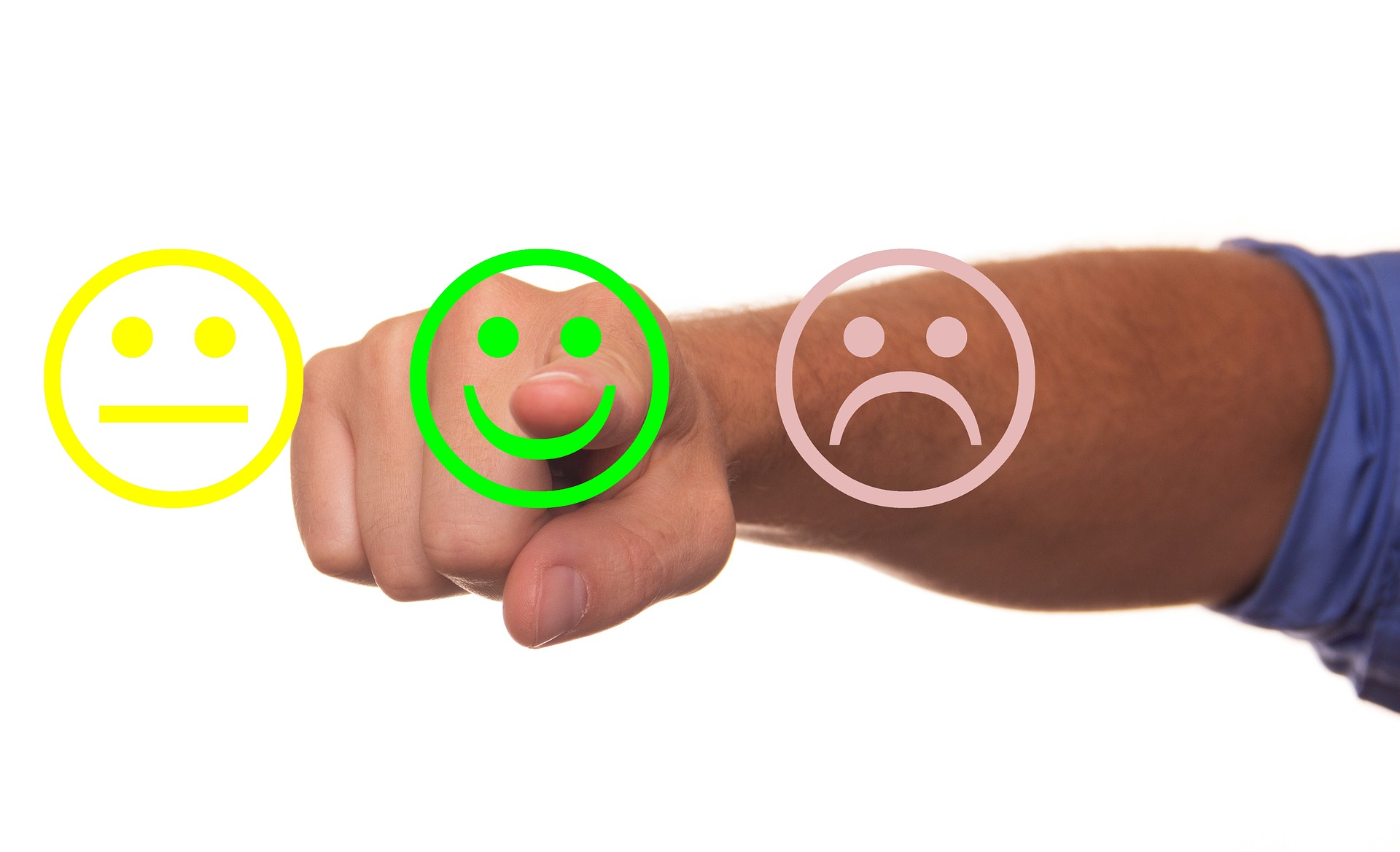 feedback faces happy review