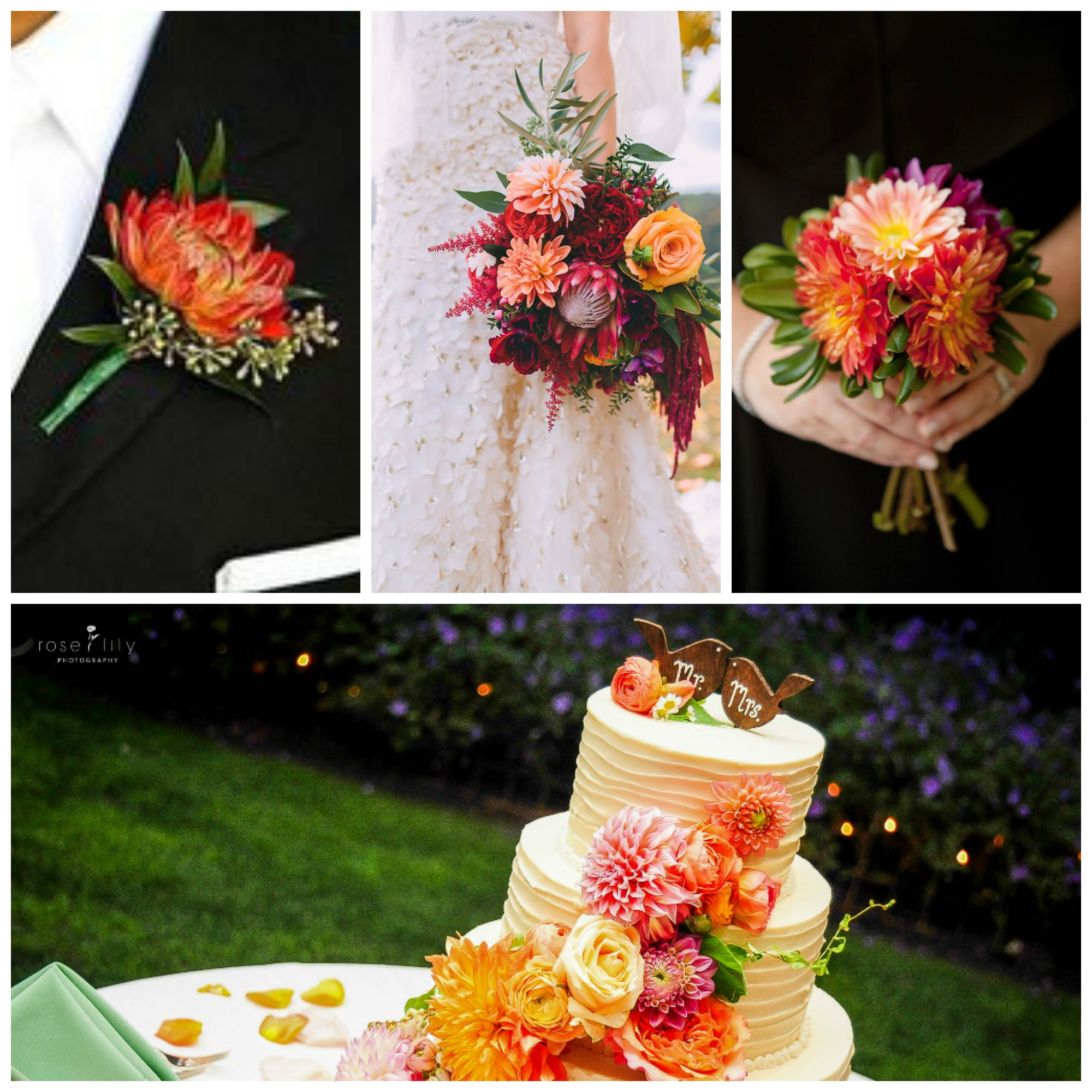 2017 Wedding Flower Trends Part 1 Romantic Wedding Flowers All