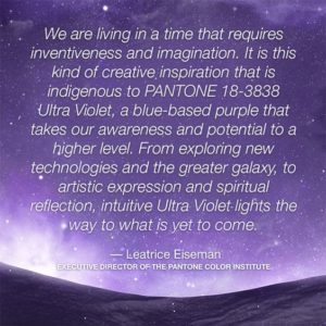 ultra violet pantone quote 2018 color of the year